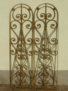Decorative window panels Image