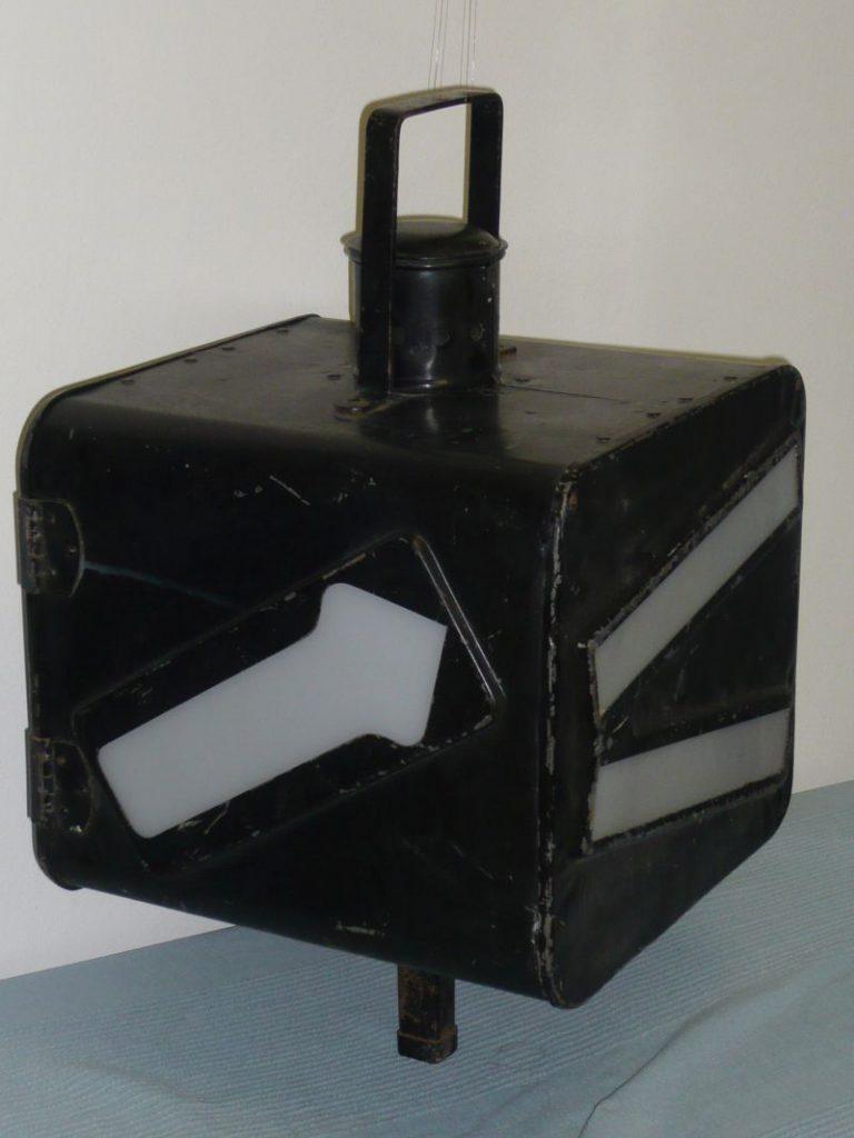 Vintage railway signal Image