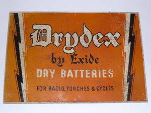 Drydex by Exide advertising sign Image