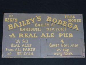 Vintage pub sign Image