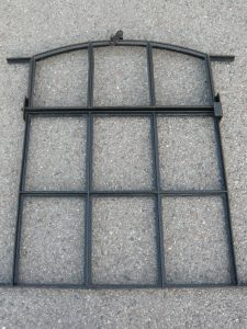 Industrial window frame Image