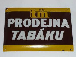 Tobacconist / News agent sign Image