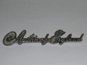 Vintage Austin car badge Image