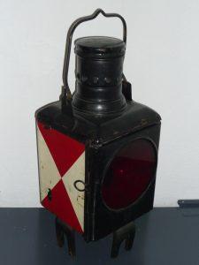 Railway lantern Image