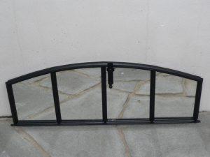 Decorative window frame mirror Image