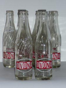 Retro glass bottles Image