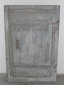 Heavy steel door Image